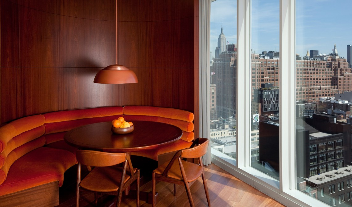 New york city boutique luxury hotels design hotels for Line design apartment 8