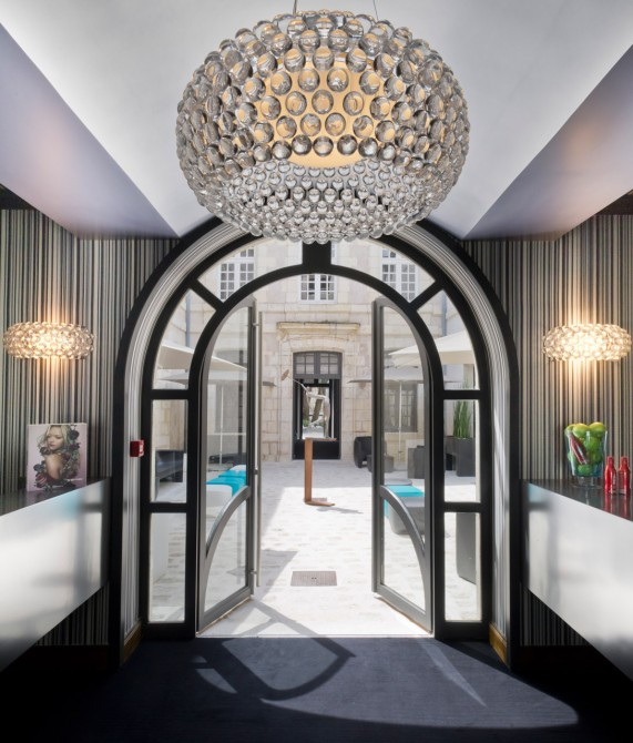 La monnaie art spa hotel la rochelle france design for Design hotels south of france