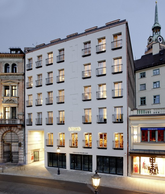 Louis hotel munich germany design hotels for Top design hotels deutschland